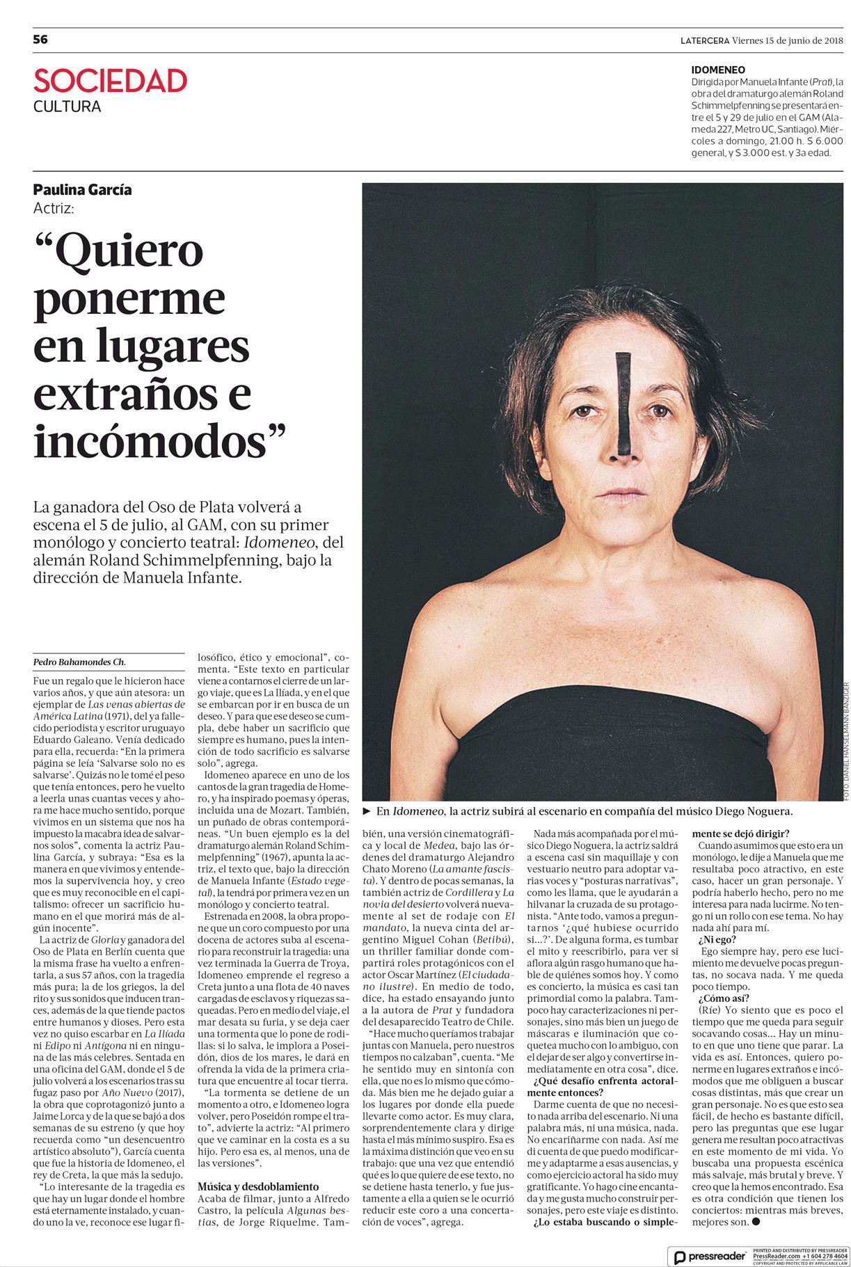 Idomeneo   Centro Gabriela Mistral 0d6e15dd8a
