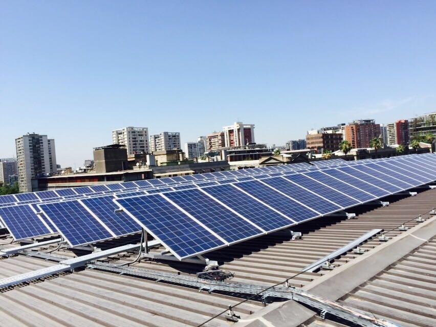 GAM inaugura mayor planta de energía solar sobre techos públicos ...