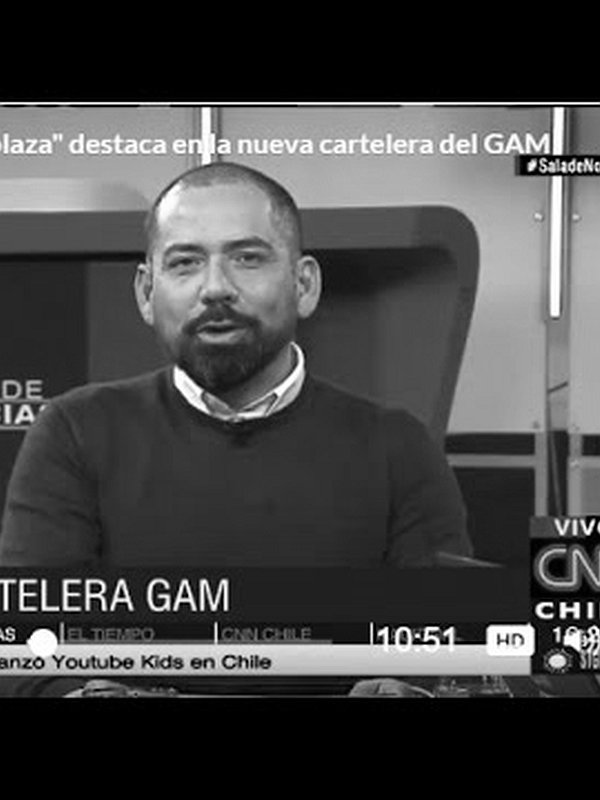 Cartelera GAM en CNN Chile, 11 Ago